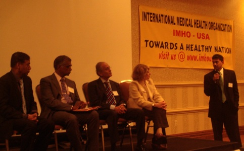 IMHO 2010 Boston Conference: Cherow is seated at the far right.